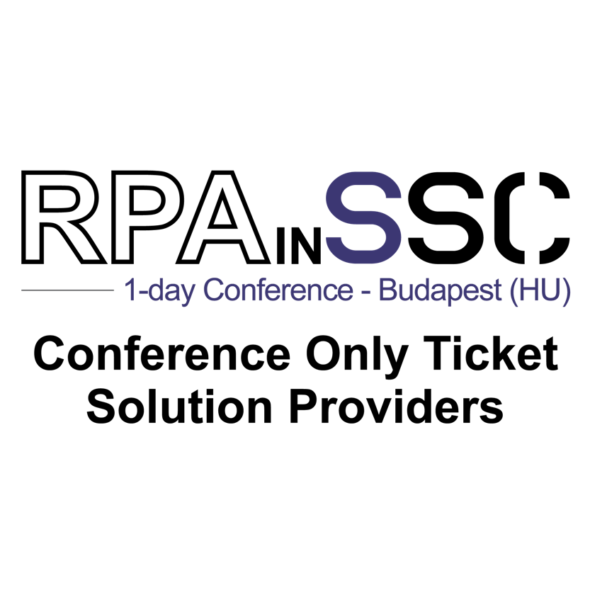 RPAinSSC_Conference_vendor_ticket_budapest